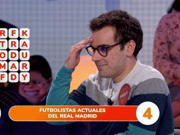 """El tremendo gazapo de Pablo en la 'Sopa de letras': """"Esto ya es trending topic"""""""
