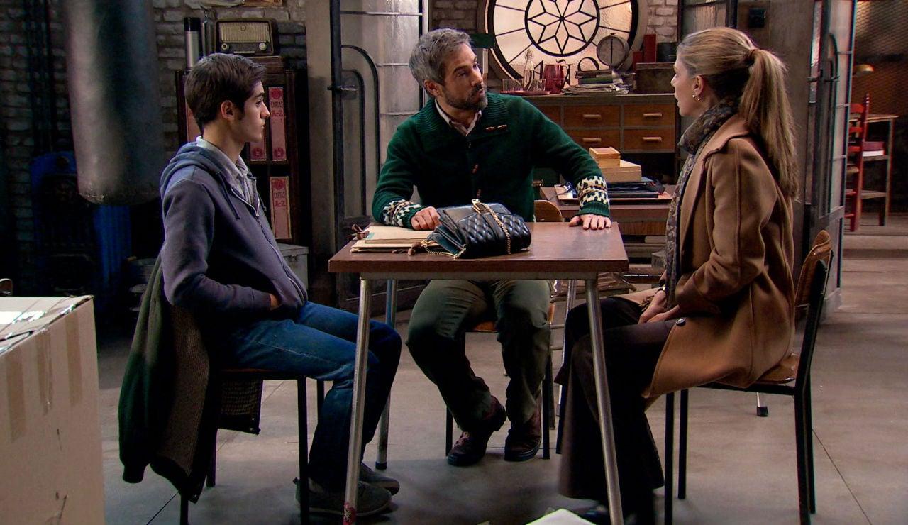 Gorka reúne a David y Maica para destapar la farsa