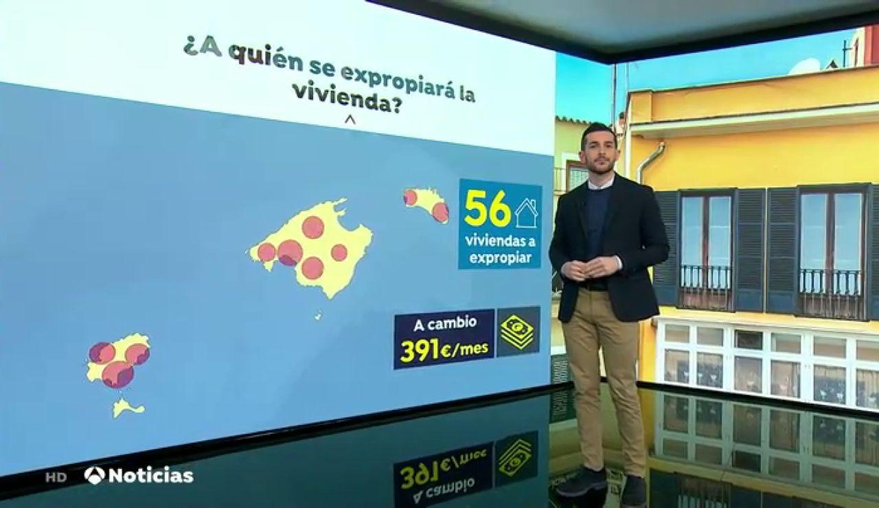 ¿En qué consiste la expropiación de viviendas para alquiler social aprobada en Baleares y que pide Podemos para toda España?
