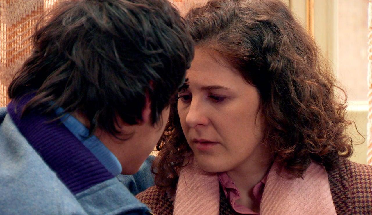 Tras una amenaza de muerte, Fabián y Virginia reavivan sus sentimientos