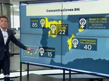 Madrid prohíbe las manifestaciones del 8M, pero ¿qué ocurrirá en otras comunidades?
