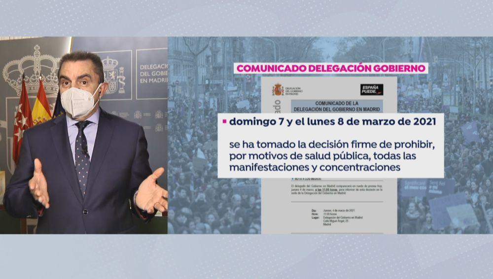 Delegado del Gobierno de Madrid