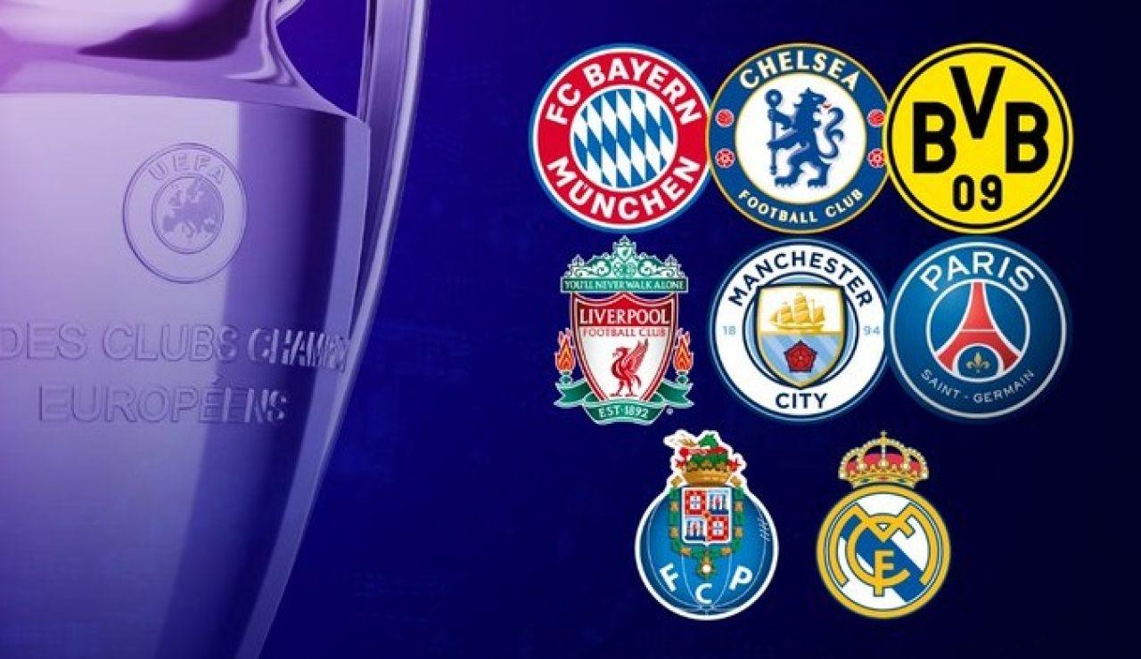 La Premier League manda en los cuartos de final de la Champions League con tres equipos