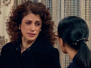 """María sorprende a Manolita: """"Tiene razón, mi marido es capaz de cualquier cosa"""