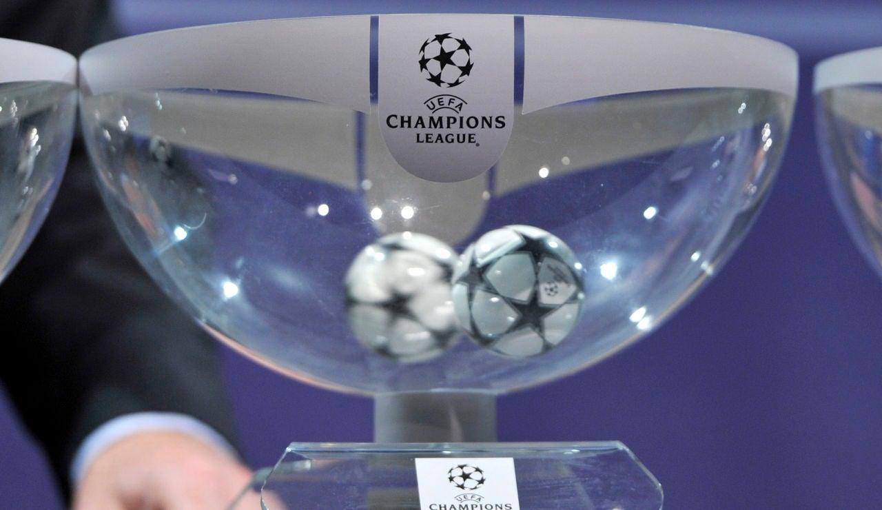 Los bombos del sorteo de cuartos y semifinales de Champions League hoy
