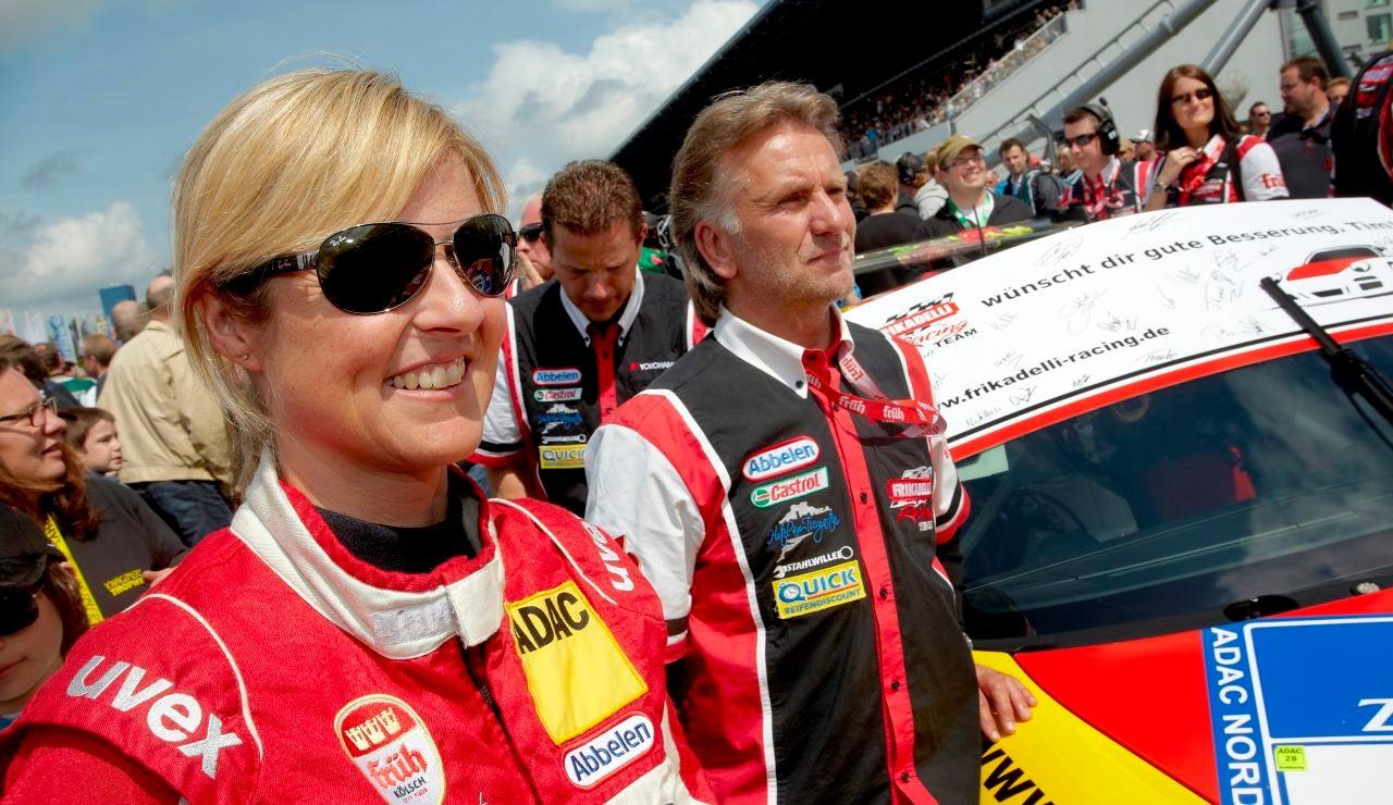 La piloto alemana Sabine Schmitz