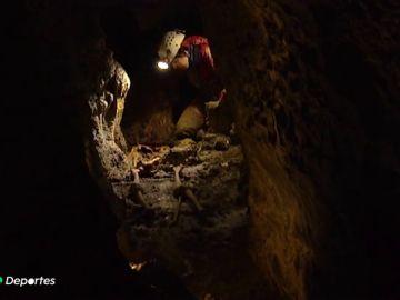 Un grupo de espeleólogos, clave para sacar al hombre de Loizu de la cueva del valle de Erro