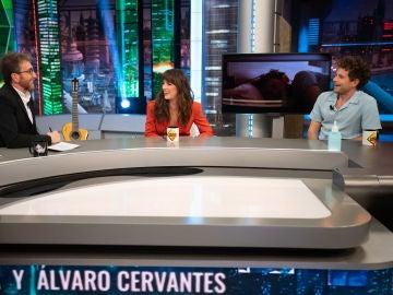 """Álvaro Cervantes y Susana Abaitua responden a Pablo Motos: """"¿Os habéis enrollado?"""""""