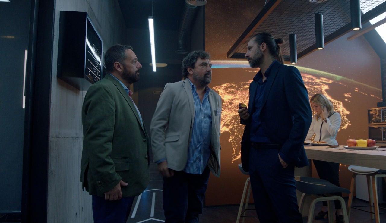 Mariano (Pepón Nieto), Paco (Paco Tous) y Lucas (Hugo Silva), se reencuentran 10 años después en 'Los hombres de Paco'