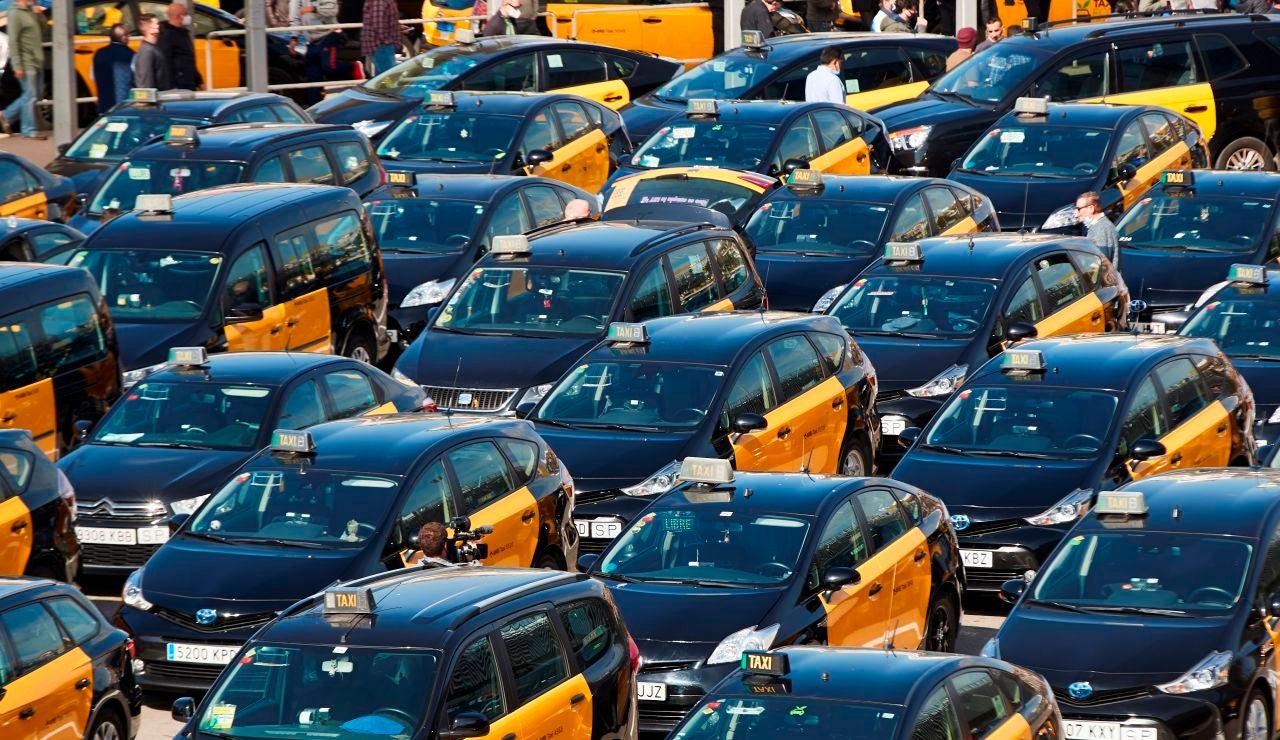 Taxistas de Barcelona