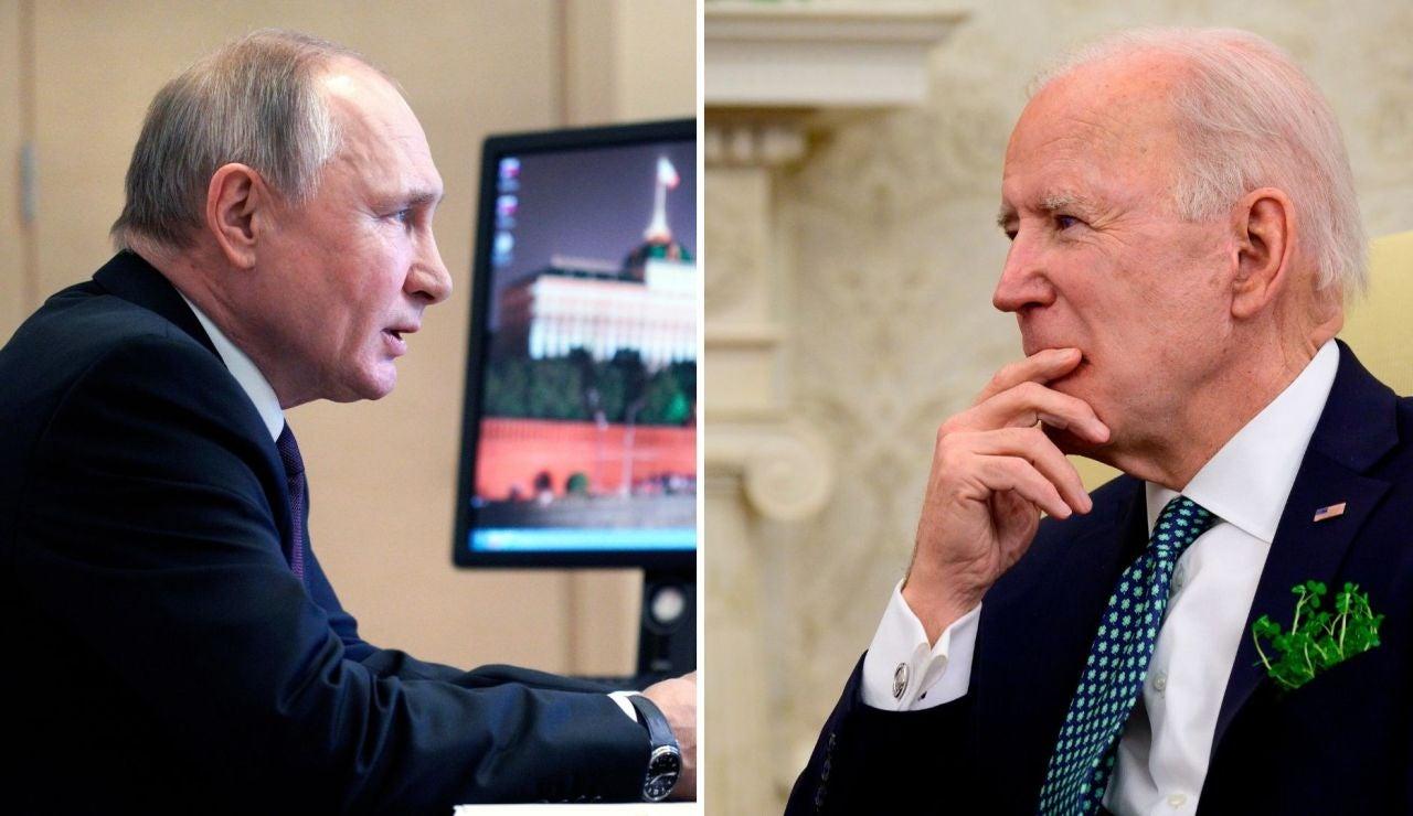 Biden y Putin
