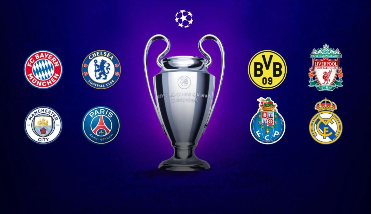 Calendario de los partidos de cuartos de final y semifinales de la Champions League 2020/21