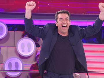 La euforia se desata en '¡Ahora caigo!' con el hito más deseado por el público