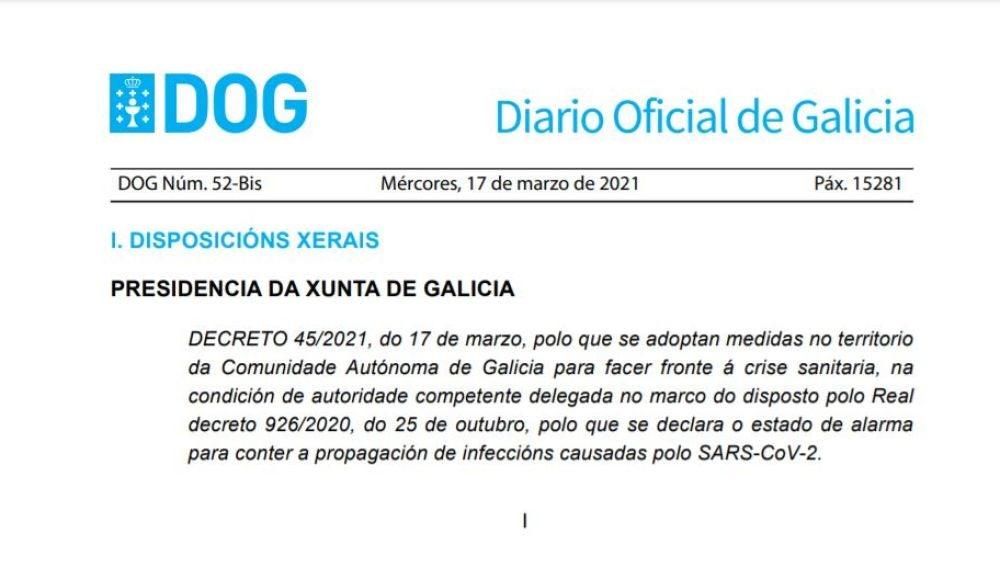 DOG Galicia