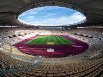 Vista del estadio de La Cartuja, sede de la final de la Copa del Rey