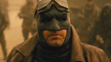 Ben Affleck en 'Liga de la Justicia' de Zack Snyder
