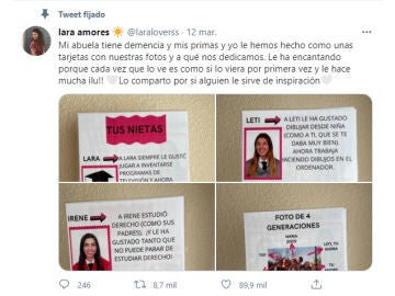Tuit de @laraloverss