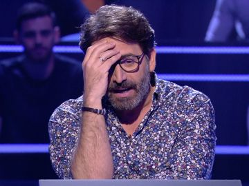 Antonio Garrido vive una 'pesadilla' para llegar a los 2.500 euros en '¿Quién quiere ser millonario?'