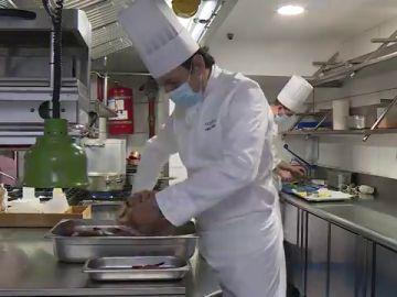 """Mario Valles, de judoka olímpico a chef de cocina: """"El reconocimiento del cliente es mejor que una medalla olímpica"""""""