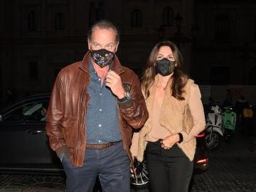 Bertín Osborne y Fabiola Martínez, tras su separación