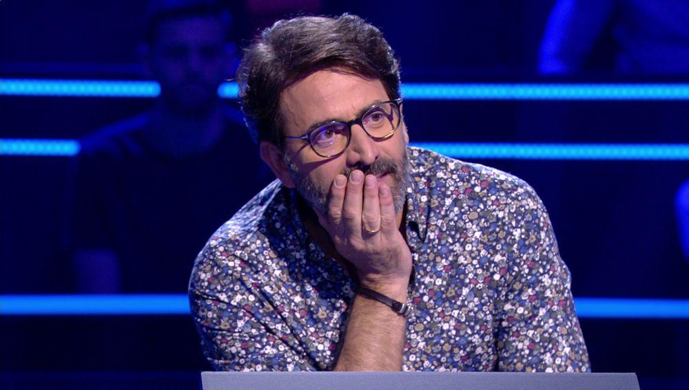 Antonio Garrido contiene la respiración para asegurar los 10.000 euros en '¿Quién quiere ser millonario?'