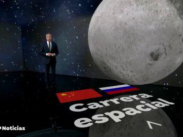 Rusia y China acuerdan crear la primera base permanente en la Luna