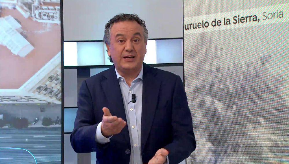 Roberto Brasero te cuenta el tiempo de invierno que hará durante el puente de San José