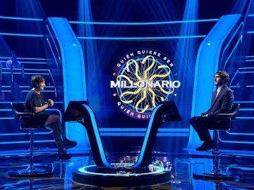 Ponte a prueba con las mismas preguntas que Antonio Garrido, Eva Hache y Boris Izaguirre en '¿Quién quiere ser millonario?'