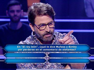 Antonio Garrido le roba el puesto a Juanra Bonet en '¿Quién quiere ser millonario?'