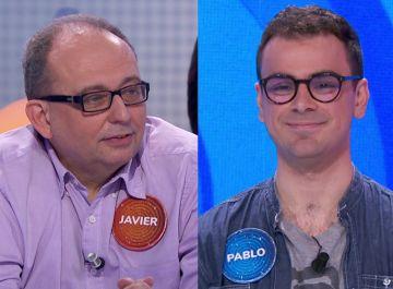 Javier Dávila y Pablo Díaz en 'Pasapalabra'