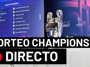 Sorteo Champions League: Emparejamientos y cruces de cuartos de final y semifinales, en directo