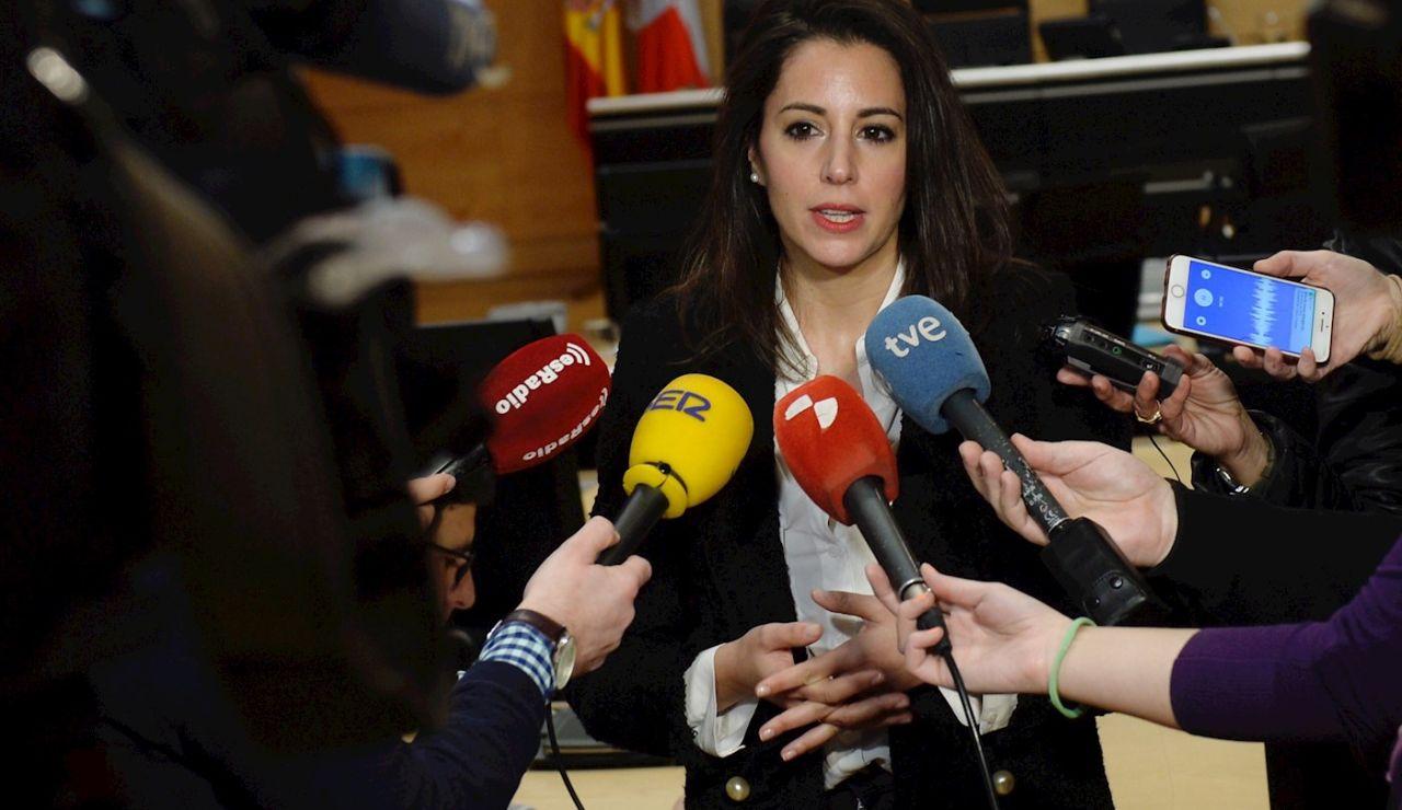 La procuradora María Montero