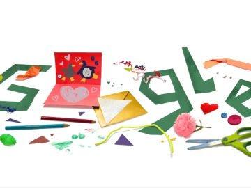El doodle de Google por el Día del Padre 2021.