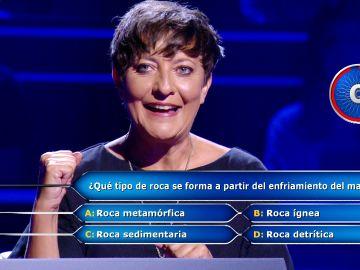 Eva Hache se la juega con la llamada para llegar a los 30.000 euros en '¿Quién quiere ser millonario?'