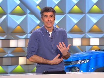 Jorge Fernández se pone sentimental en 'La ruleta de la suerte'