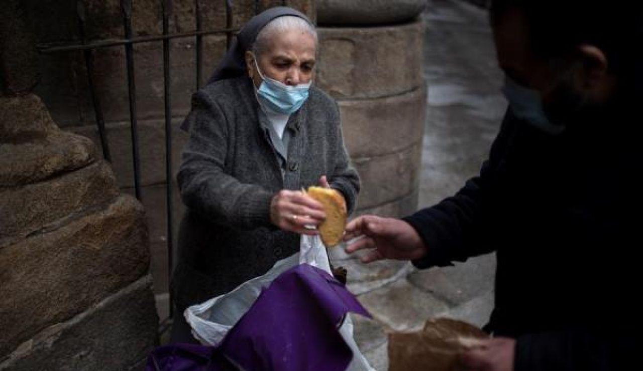 Imagen de archivo de Otilia, una monja gallega que ayuda a los 'sintecho'