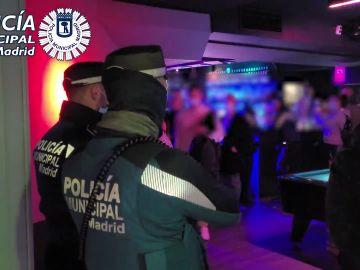 Restricciones Semana Santa: La policía interviene en Madrid más de 200 fiestas ilegales