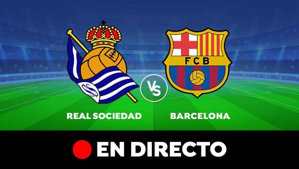 Real Sociedad - Barcelona: Resultado y goles del partido de hoy, en directo | Liga Santander