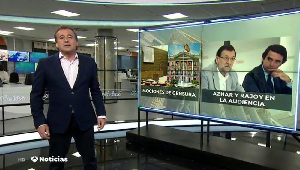Las mociones de censura y el caso Bárcenas marcan la agenda política de la semana