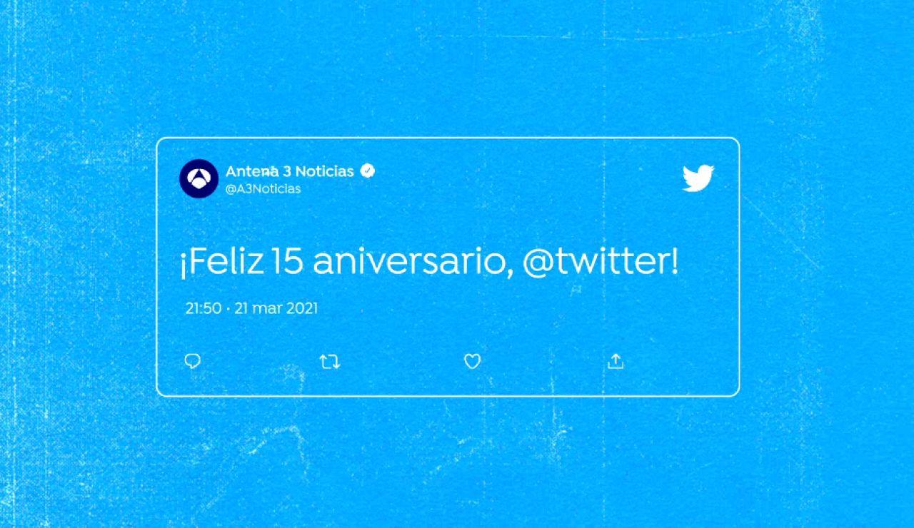 15 Aniversario Twitter