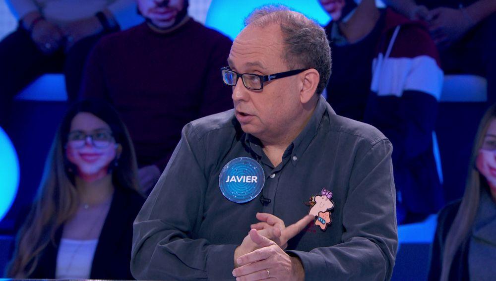 El amuleto de Javier en 'Pasapalabra': un broche con mucho valor afectivo