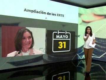 """Reyes Maroto sobre la ampliación de los ERTE: """"Es una medida que estará el tiempo que sea necesario"""""""