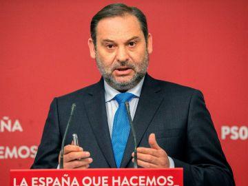 José Luis Ábalos, en un acto en Madrid