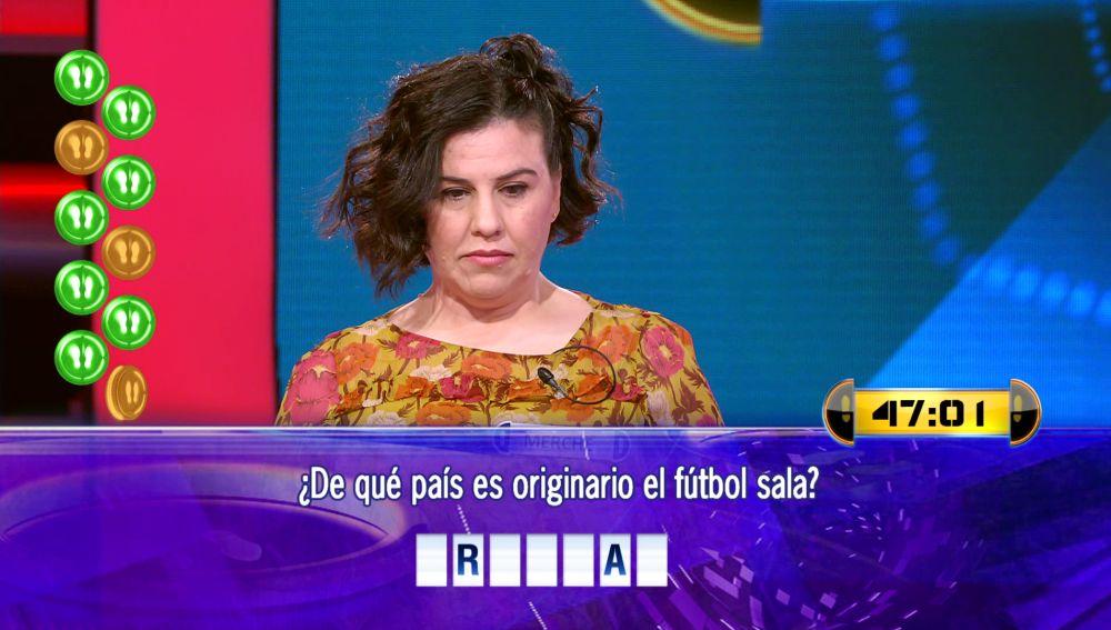 Merche trata de repetir suerte en el Duelo Final: ¡79.000 euros en juego en '¡Ahora caigo!'!