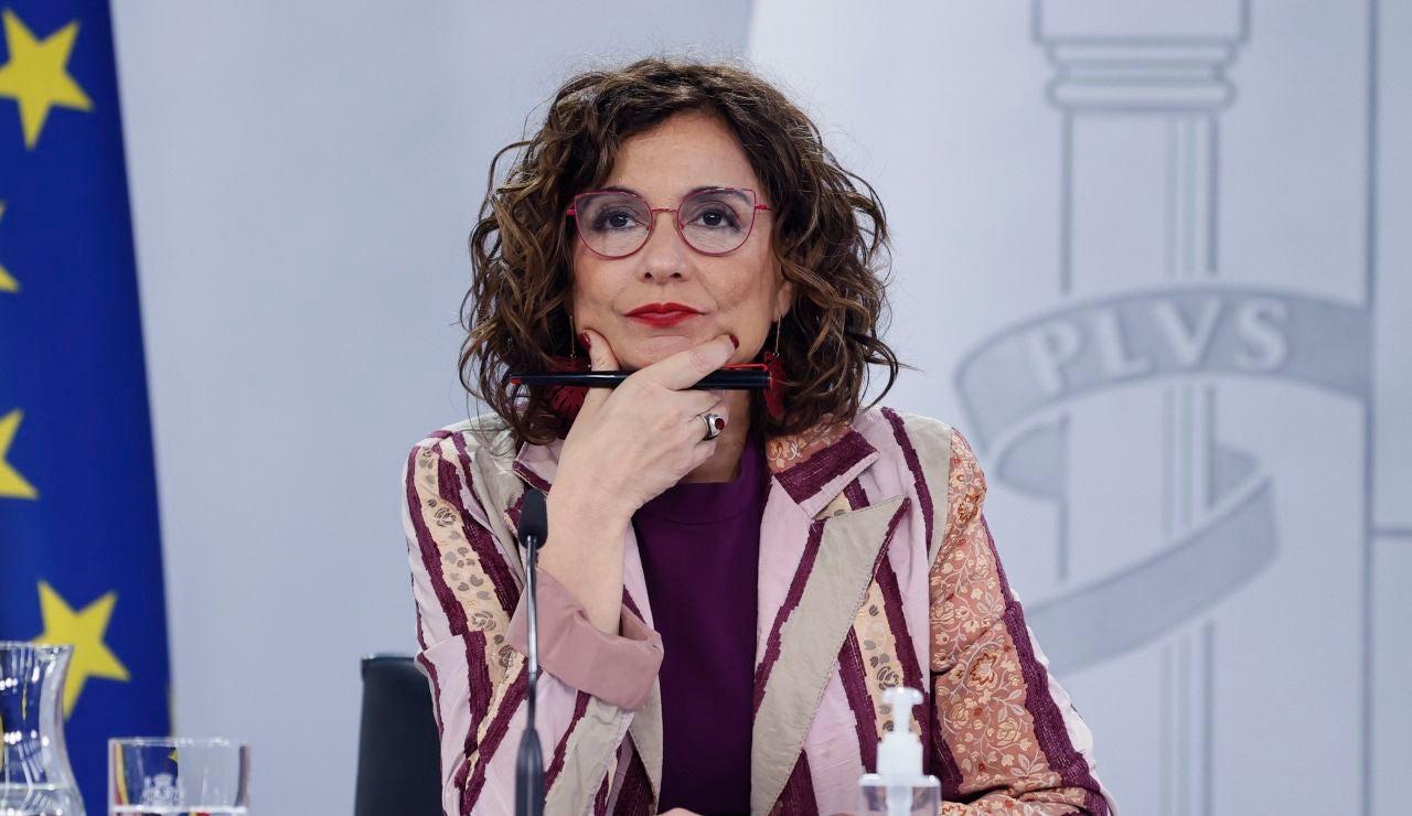 María Jesús Montero, portavoz Consejo Ministros