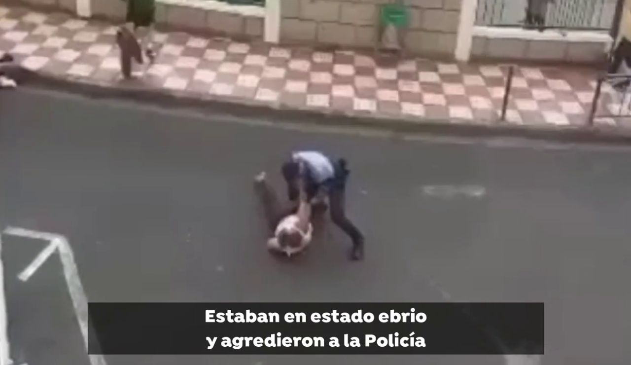 Detienen a una pareja de ingleses por aparcar en un vado y agredir a la Policía en Adeje (Tenerife)