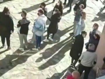 Vecinos de A Coruña expulsan a 18 okupas de una casa