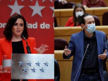Encuestas elecciones Madrid: Ayuso y Pablo Iglesias suben, según los últimos sondeos