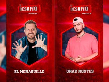 Omar Montes y El Monaguillo estarán en El Desafío
