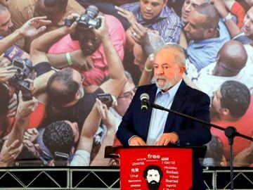 Lula Da Silva, en un acto en Brasil